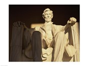 Close-up of the Lincoln Memorial, Washington, D.C., USA