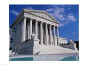 Facade of the U.S. Supreme Court, Washington, D.C., USA
