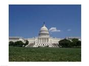 Facade of the Capitol Building, Washington, D.C.
