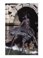 Nymph Riding Horse, , Court of Neptune Fountain, Thomas Jefferson Building, Library Of Congress, Washington DC, USA