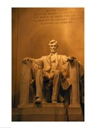 USA, Washington DC, Lincoln Memorial