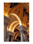 Interiors of a library, Library Of Congress, Washington DC, USA