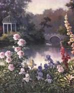 Summer Garden Triptych 1