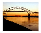 The Bourne Bridge over the Cape Cod Canal