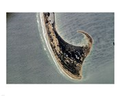 Provincetown Cape Cod photographed from space