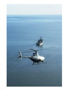 Fire Scout unmanned helicopter