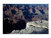 Wide Angle View of the Grand Canyon National Park