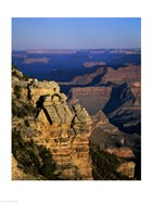 High angle view of rock formations, Grand Canyon National Park, Arizona, USA