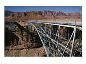 Bridge across a river, Navajo Bridge, Colorado River, Grand Canyon National Park, Arizona, USA