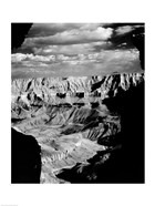 Grand Canyon National Park (wide angle, black & white)