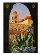 Palermo, travel poster 1920