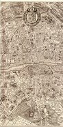 Plan de la Ville de Paris, 1715 (M)