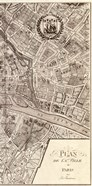 Plan de la Ville de Paris, 1715 (R)