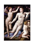 Angelo Bronzino - Venus, Cupid and Envy