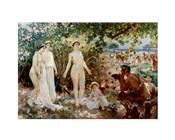 Judgment of Paris he goddesses Athena, Hera and Aphrodite