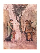 La punizione di Amore Aphrodite Pompeii mural