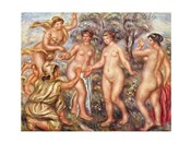Pierre-Auguste Renoir the Judgement of Paris