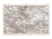 1852 Depot de Guerre Map of Paris and its Environs, France