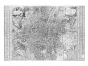 Jaillot map of Paris 1762