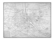 Paris map circe 1739