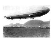 Zeppelin Airship LZ 11 Viktoria Luise on May 5, 1912 in Marburg