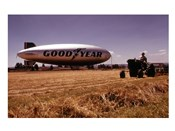 Goodyear  Blimp in June 1973