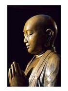 Close-up of a Buddha Statue, Asakusa Kannon Temple, Tokyo, Japan