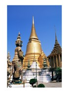 Stupas at theTemple of the Emerald Buddha, Bangkok, Thailand