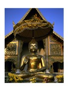 Statue of Buddha, Wat Phra Sing, Chiang Mai Province, Thailand