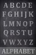 Chalkboard Alphabet