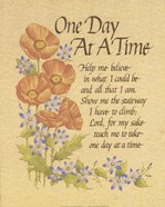 Carol Tribou - One Day at a Time Size 8x10