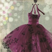 Fuschia Dress I