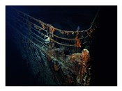 Titanic Wreckage Underwater