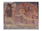 Flagellation St Erasmus Crypta Balbi