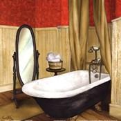 Red Farmhouse Bath II