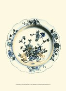Blue & White Porcelain Plate I