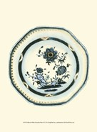 Blue & White Porcelain Plate II