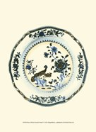 Blue & White Porcelain Plate IV