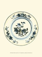 Blue & White Porcelain Plate V