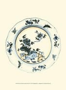 Blue & White Porcelain Plate VI