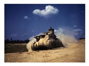 M3 Lee Tank, Training Exercises, Fort Knox, Kentucky