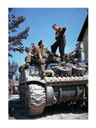 Crew of a Sherman Tank