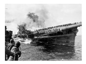 Attack on Carrier USS Franklin March 1945