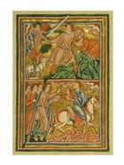 An Angel Halts Abraham's Sacrifice of Isaac