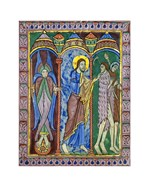 Albans Psalter: Expulsion from Paradise