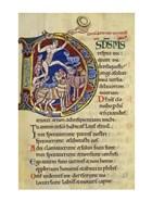 Psalm 136, Initial D In Albani Psalter