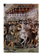 The Solemn Entrance of Emperor Charles V, Francis I of France