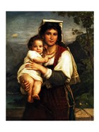 Young Roman Woman with Child