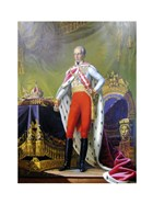 Emperor Franz, a Portrait of King of Hungary