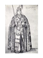 Study for the painting of Charlemagne